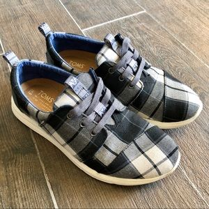 Toms | plaid sneakers